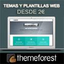 Temas y Plantillas Web desde 2€